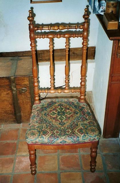 Napolon III Chaise De Nourrice A La Cathedrale Epoque Napoleon