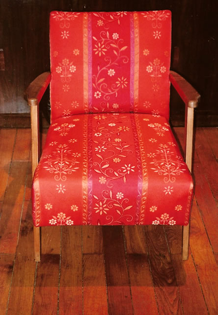 moderne art nouveau fauteuil annees. Black Bedroom Furniture Sets. Home Design Ideas